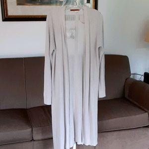 Belldini Gray Knit Duster